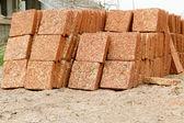 Group of brick — Stock Photo