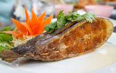 Hluboké smažené ryby — Stock fotografie