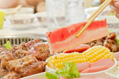 Korean food — Stock Photo