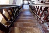 Wooden ladder — Stock Photo