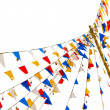 Colorful flags — Stock Photo