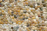 Wet round stone — Stock Photo