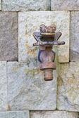 Vintage faucet — Stock Photo