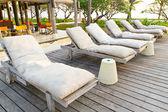 Beach chairs — Foto de Stock