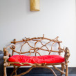 Red chair — Stock Photo