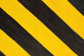 Yellow and black strip line — Stock Photo