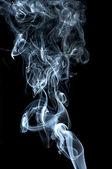 Abstract smoke on black background — Stock Photo