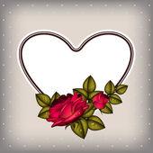 Invitacion de casamiento — Vector de stock