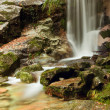 Stock Photo: Waterfall at Geres National park, north of Portugal