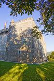 Palace of Duques de Braganca, in Guimaraes Portugal, north of th — Stock Photo