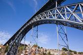 Dom luis ich überbrücken, porto, portugal — Stockfoto