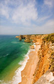 Beautiful beach of Praia da Marinha, Algarve, Portugal. Consider — Stock Photo