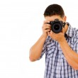 Young photographer — Stock Photo #9378801