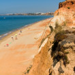 Beautiful beach at algarve — стоковое фото #9379221