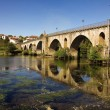Bridge of Ponte da Barca - Stock Photo
