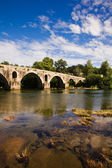 Pont romain de ponte porto, braga, dans le nord du portugal — Photo