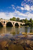 Roman bridge of Ponte do Porto, Braga, in the north of Portugal — Stock Photo