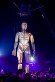Guimaraes, Portugal - January 21: The huge figure of the dummy d — Stock Photo