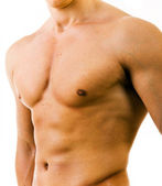 Muscular perfect male torso — Stock Photo