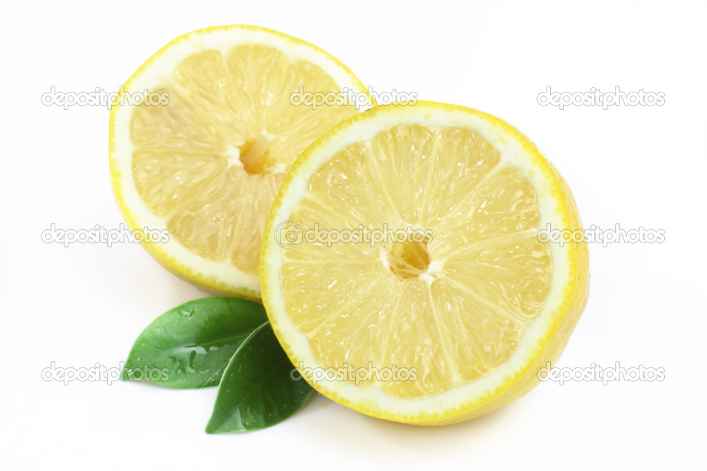 Lemon isolated on white background — Stock Photo #8633417