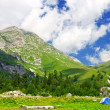 Stock Photo: Camp in mountains