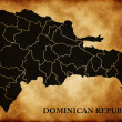 Map of Dominican Republic — Stock Photo