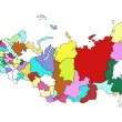 Stock Photo: Map of Russia