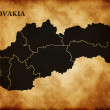 Royalty-Free Stock Photo: Map of Slovakia