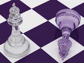 Chess kings — Stock Photo