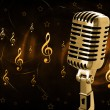 Vintage microphone — Stock Photo #8048024