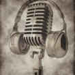 Vintage microphone — Stock Photo #8107411