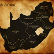 Stock Photo: Map of South Africa