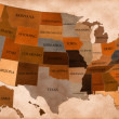 Map of USA — Stock Photo #8212819