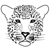 Illustration of a leopard — Stock Photo
