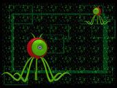 Bilgisayar virüsü — Stok fotoğraf