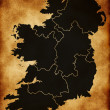 Map of Ireland — Stock Photo