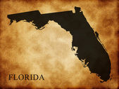 Map of Florida — Stockfoto