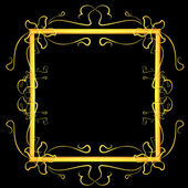 Frame with ornaments — Stock Photo