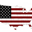 USA map — Stock Photo #9275338