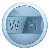 Button wi fi — Stock Photo