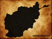 Map of Afghanistan — Stock Photo