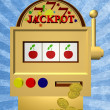 A slot fruit machine — Stock Photo