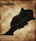 Map of Morocco — Stock Photo