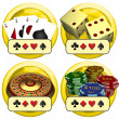 Casino Buttons — Stock Photo #9652647