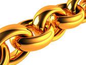 Gold Chain — Stock Photo