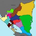 Map of Nicaragua — Stock Photo #9936230