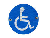 A Disabled Parking Sign — Stock Photo