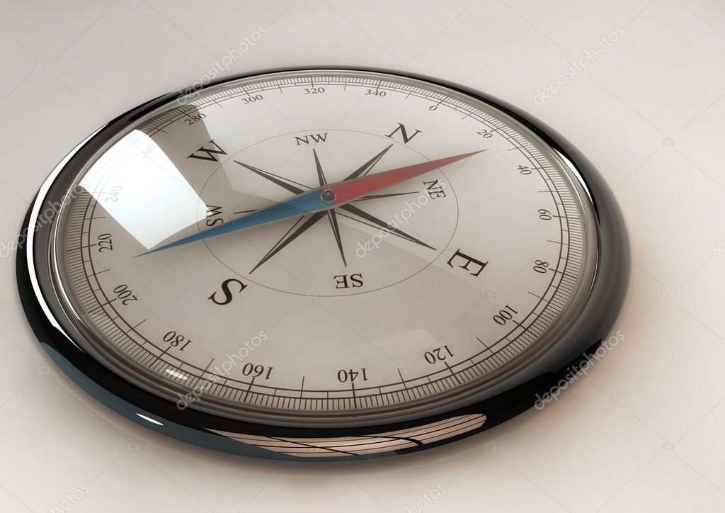 Shiny Compass — Stock Photo #10373906