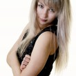 Cute blonde girl — Stock Photo
