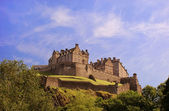 Edinburgh Castle on a warm sunny day — Stock Photo